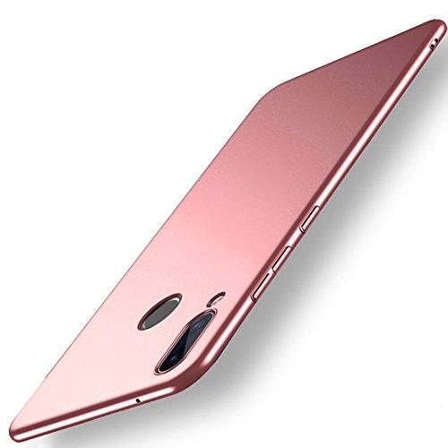 Vooway Oro Rosa Ultra Sottile Custodia Cover Case + Pellicola Protettiva per Huawei P20 Lite (5.84') MS70549