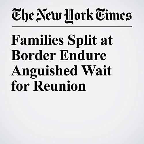 Families Split at Border Endure Anguished Wait for Reunion copertina