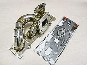 OBX Performance Turbo Manifold Exhaust Header T3 T4 Turbo Manifold Header 03-05 Dodge Neon SRT-4 2.4L DOHC