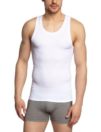 Schiesser Herren Unterhemd 123625-100, Gr. 7 (XL), Weiß (100-weiss)