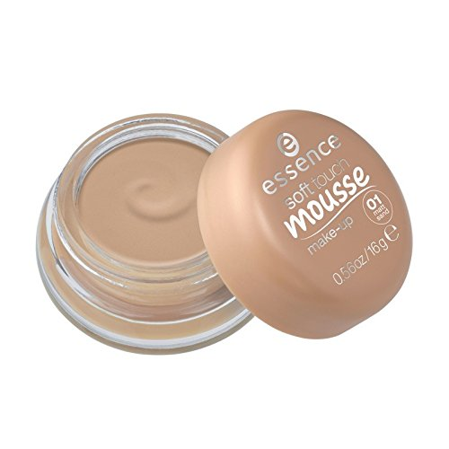 essence - Foundation - soft touch mousse make-up - 01 matt sand