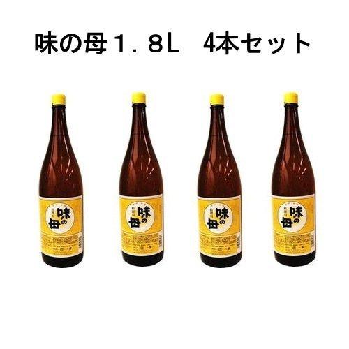 味の母 1.8L 一本で二役(みりん+料理酒) 4本セット
