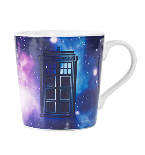DOCTOR WHO Z888330 Thermoeffekt-Tasse Galaxy, Mehrfarbig