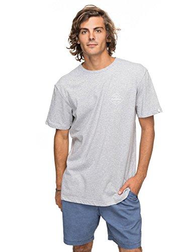 Quiksilver ssclaamethyst T-shirt, Homme S gris