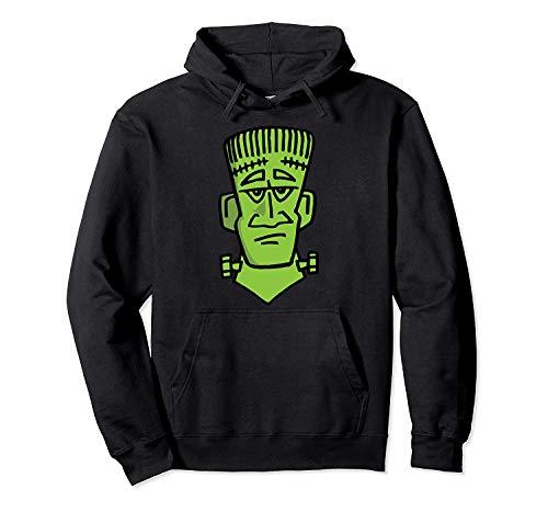 N/A Sudadera con Capucha Divertido Frankenstein Busto Halloween Horror Disfraz rpido