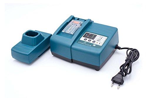 vhbw Cargador compatible con Makita 193138-9, 193969-6, 193983-2, PA12 herramientas, baterías de Ni-Cd, NiMH, Li-Ion