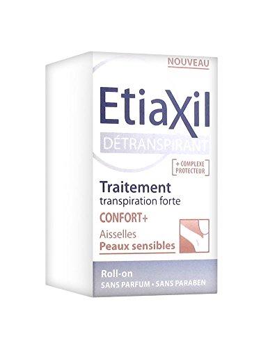 """Etiaxil Roll-On-Deodorant zur Vermeidung von Schweiß """"Confort+"""", für die Achseln, geeignet für empfindliche Haut, 15ml"""