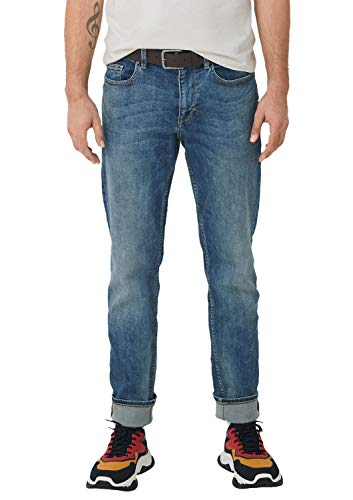 s.Oliver Herren 13.908.71.4592 Straight Jeans, Blau (Blue Denim Stretch 55z4), 30W / 30L