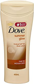 Dove Summer Glow Body Lotion Fair To Medium Skin, 400ml