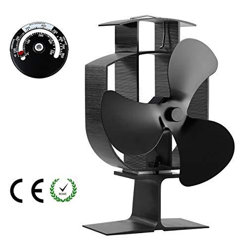 Elikliv ventilador de estufa de 5 sopladores, remache de