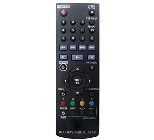 Ersatz Fernbedienung Kompatibel mit LG BP250 Blu-Ray Players