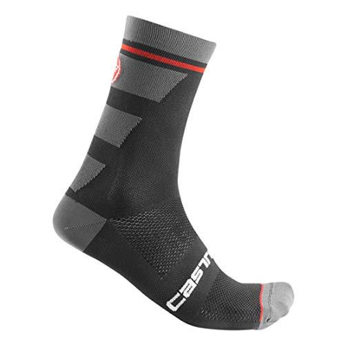 CASTELLI Trofeo 15, Herren-Socken XXL schwarz