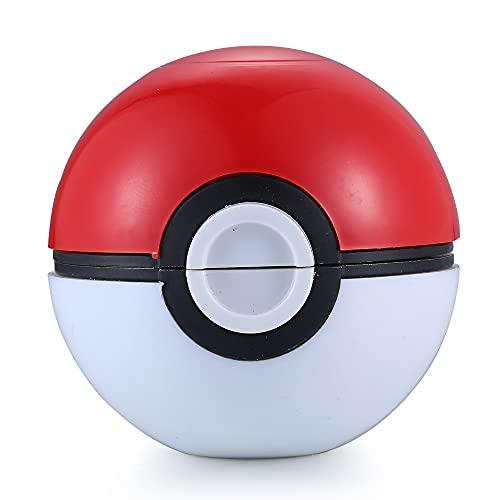 Spespo Pokemon Grinder Pokeball Spice Mill 3 Piezas 2 pulgadas trituradora