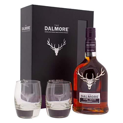 Dalmore Port Wood + 2 Gläser in Geschenkbox (1 x 0,7l)