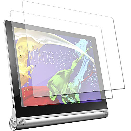 TECHGEAR [Pack of 2] Anti Glare Screen Protectors for Lenovo Yoga Tablet 2 10' (Yoga 2 10.1 inch Tablet) - Matte Lcd Screen Protector Guard Covers With Screen Cleaning Cloth & Application Card