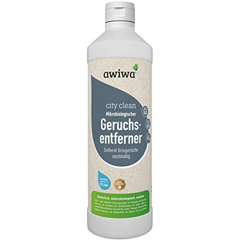 awiwa Geruchsneutralisierer Urin & Uringeruch Entferner - Ideal für Parkhäuser, Passagen, Einkaufszentren etc. (1 Liter)