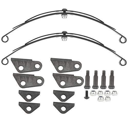 T best Blattfeder hinten, Stahl für schwere Beanspruchung hinten Blattfedersatz Blattfedersatz Passend für 1/14 PKW-LKW