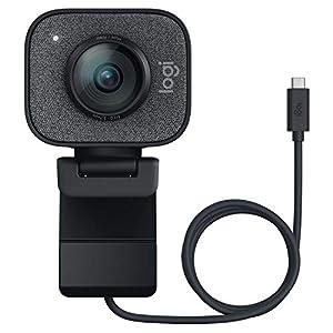 """ロジクール ウェブカメラ フルHD 1080P 60FPS ストリーミング ウェブカム AI オートフォーカス 自動露出補..."""""""