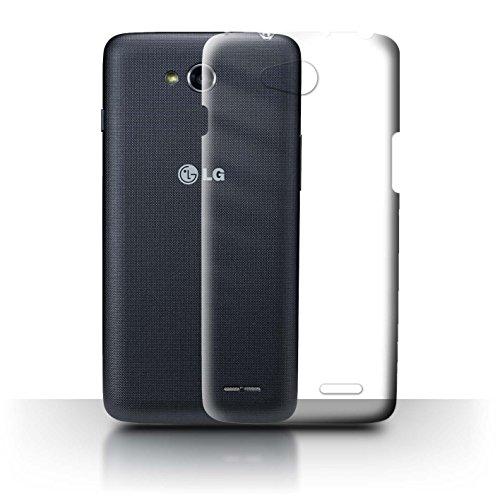 Stuff4 Transparent Schutz Hülle/Hülle für LG L90/D405