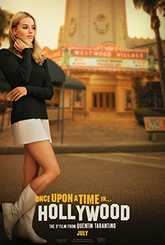 Lionbeen Once Upon A Time In Hollywood Movie Poster Filmplakat 70 X 45 cm