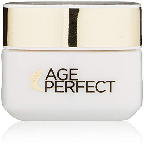 L'Oréal Paris Augenpflege, Age Perfect, Anti-Aging Feuchtigkeitspflege, Stütz-Effekt und Straffheit, Für reife Haut, Mit Soja-Ceramid, 15 ml