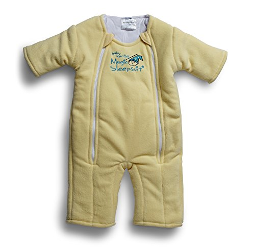 Baby Merlin's Magic Sleepsuit - Swaddle Transition Product - Microfleece - Yellow - 3-6 Months