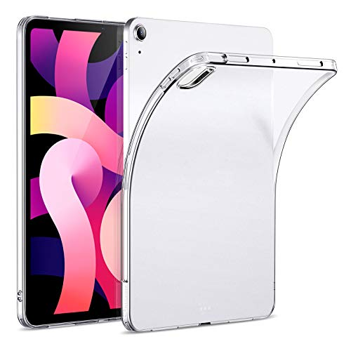 ESR Matte Case for iPad Air 4 2020 10.9 Inch [Translucent Back Cover] [Supports Pencil Wireless Charging] - Matte Clear
