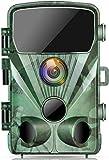 TOGUARD Cámara de Caza 20MP 1080P Impermeable Cámara de vigilància, con Vision Nocturna Gran Angular de 130° Detección de Movimiento Cámara Foto Trampa, 0.3s Velocidad de disparo 2.4 'LCD IR LEDs