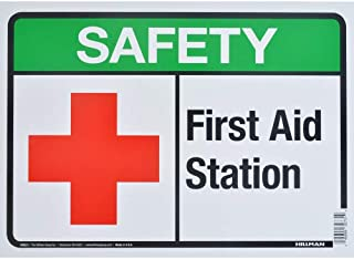 first aid station banner