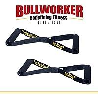 Bullworker Iso-Bow Pro Par: Correas ejercicios isométricos portátil para viajar entrenamiento de fuerza y flexibilidad, herramienta de estiramiento de yoga y pilates (no se estira)