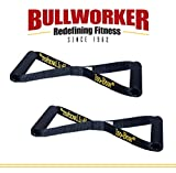 Bullworker Iso-Bow Pro Pair: Isometric Exercise <span class='highlight'>Equipment</span>; Portable <span class='highlight'>Home</span> <span class='highlight'>Fitness</span> <span class='highlight'>Training</span> Strap for <span class='highlight'>Strength</span> and Flexibility Gains, Traveling Stretching Tool for Yoga and Pilates (does not stretch)