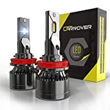 H11 LED 18000LM Bombillas Especiales para Coches, 55W, 12V, 6000K