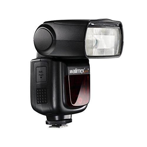 Walimex Speedlite LithiumPower 58 HSS E-TTL II - Flash (Flash Esclavo, Negro, 1,8 s, Canon, 5600 K, 360°)
