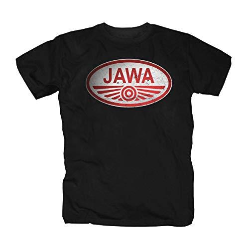 Jawa Logo Motorrad T-Shirt (XL)