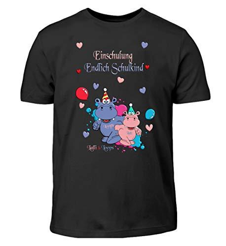 per la Scuola Shirtzshop - T-Shirt per Bambini, Idea Regalo Nero (98 cm/104 cm)