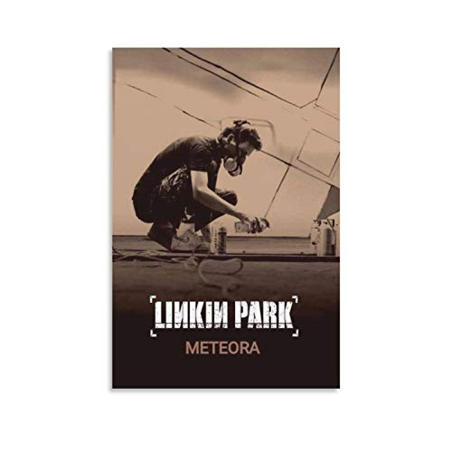 Linkin Park Meteora Album Cover Canvas Art Poster and Wall Art Picture Print Modern Family Bedroom Decor Posters 12x18inch(30x45cm)