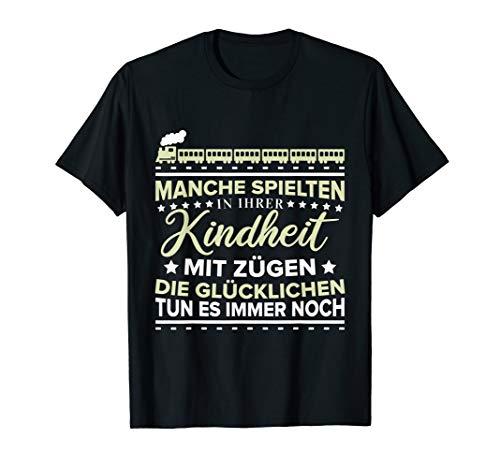 Eisenbahner & Lokführer | Lustiger Spruch Zugführer Geschenk T-Shirt