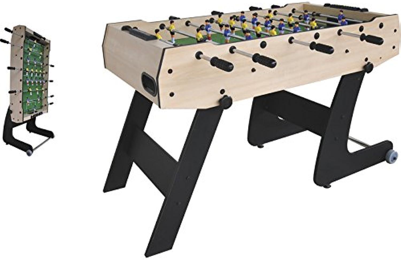 nuevo sádico XTURNOS Futbolín Plegable Plegable Plegable de 121X61X80 cm.  gran selección y entrega rápida