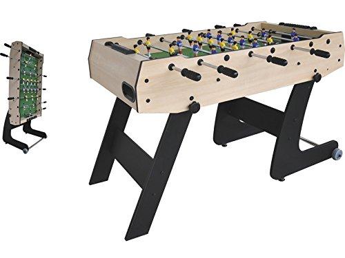 XTURNOS Futbolín Plegable de 121X61X80 cm.