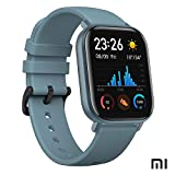 Xiaomi Amazfit GTS Reloj Smartwactch Deportivo | 14 días Batería | GPS+Glonass | Sensor Seguimiento Biológico BioTracker PPG | Frecuencia Cardíaca | Natación | Bluetooth 5.0 (iOS & Android) Azul