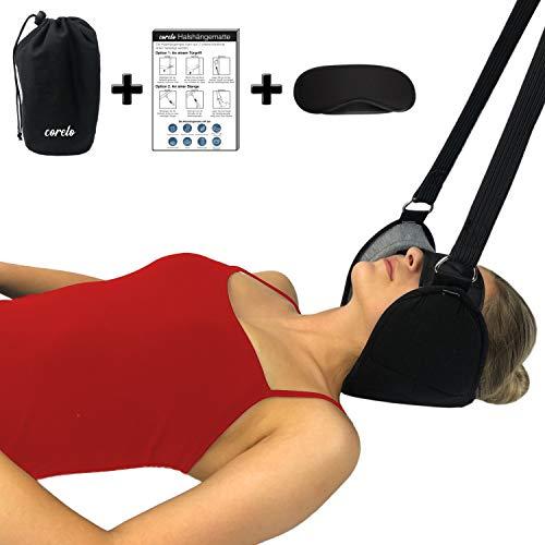 CORELO Vitalpuls Premium Hals Hängematte Nackenschaukel Nackenmassagegerät gegen Nackenschmerzen und Verspannungen (Einstellbar)