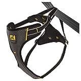 Kurgo Impact - Imbracatura di sicurezza per cani, per cani e animali domestici, fino a 36 kg, colore: Nero/Carbone