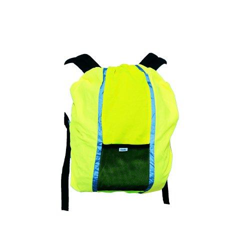 YOKO - Couverture pour sac à dos (Taille unique) (Jaune Haute Visibilité)