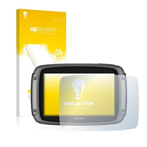 upscreen Entspiegelungs-Schutzfolie kompatibel mit Tomtom Rider 500/550 – Anti-Reflex Displayschutz-Folie Matt