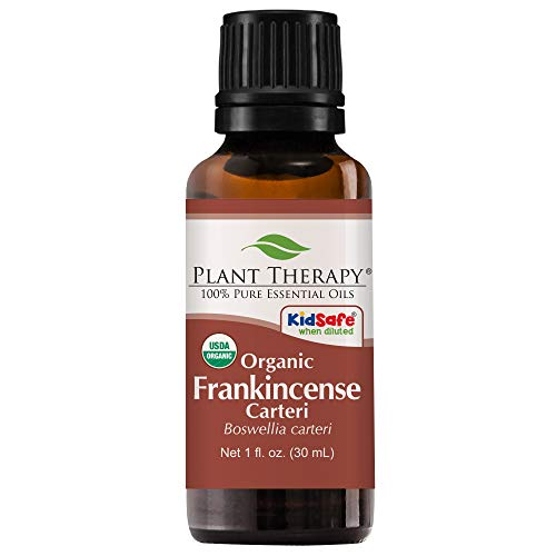 Plant Therapy Frankincense Carteri Organic Essential Oil 100% Pure,...