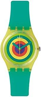 Swatch Women's GJ135 Vitamin Booster Year-Round Analog Quartz Turquoise Watch