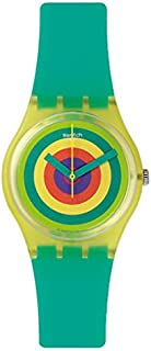Swatch Women's GJ135 Vitamin Booster Year-Round Analog Quartz Turquoise Watch