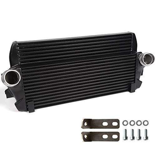 New High Performance Front Mount Intercooler Compatible For BMW F01/06/07/10/11/12 Black