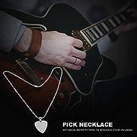 ギタープレーヤーのためのウクレレのためのスタイリッシュな取り外し可能なギターピックネックレス(C)