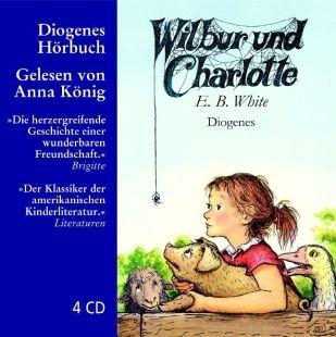 Wilbur und Charlotte, 4 Audio-CDs. Von